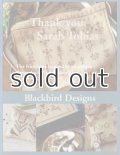 Thank you, sarah tobias blackbird designs ブラックバードデザインズ